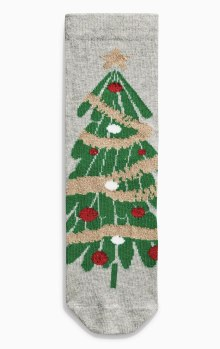 Next Christmas Tree Socks (Older Girls)